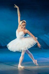 woman ballet dancing
