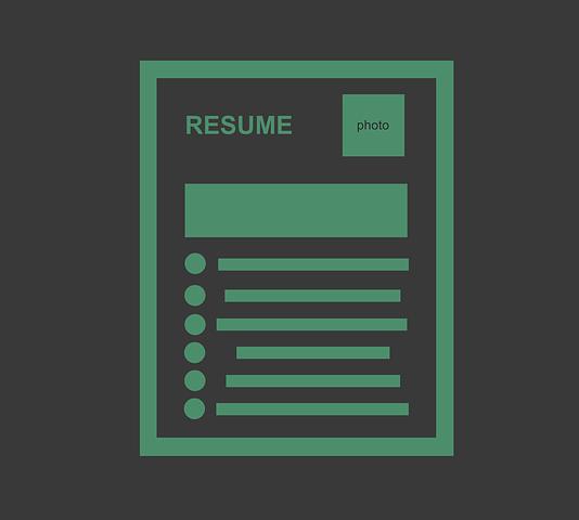 mock up resume